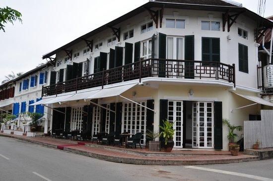 The Belle Rive Boutique Hotel:                   main building with lobby