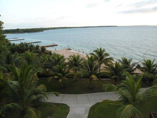 Royal Decameron Baru:                                     Vista desde el hotel 2
