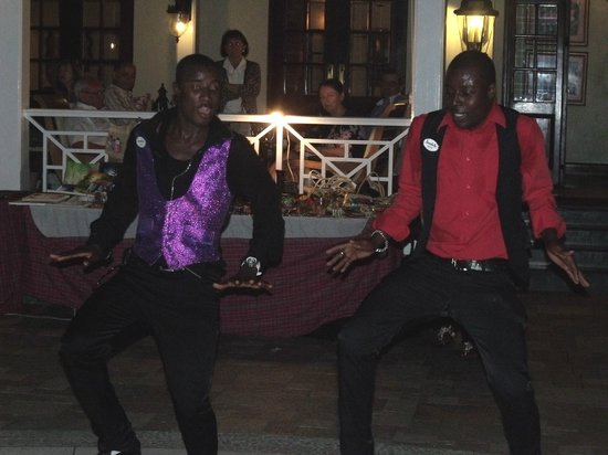 Sandals Royal Plantation:                   The resort entertainers