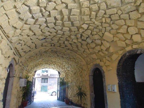 Hotel Trieste:                   entrance