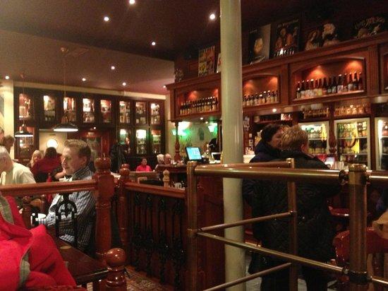 De Halve Maan Brewery: Interno locale