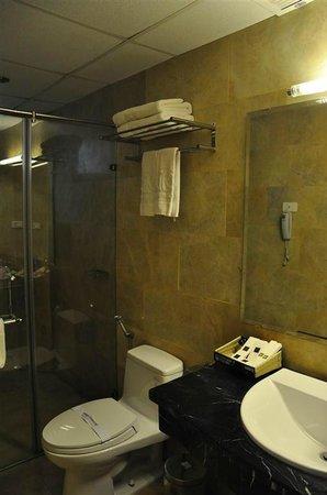 Golden Rose Hotel:                   Bathroom