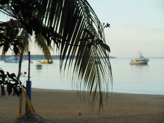 Sandals Negril Beach Resort & Spa:                   View from walk out room