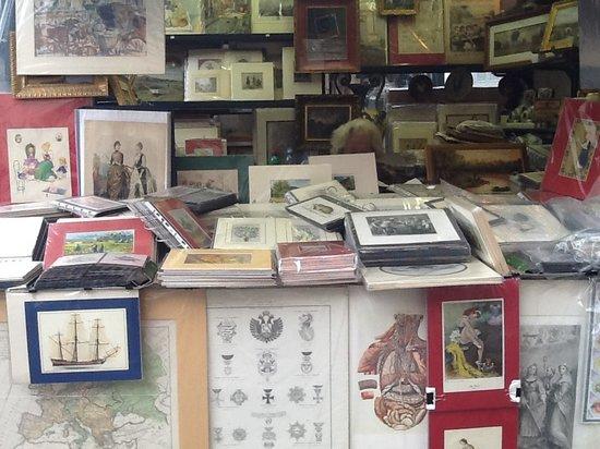 Dipinti stampe e cartoline da franchina foto di for Siti di antiquariato