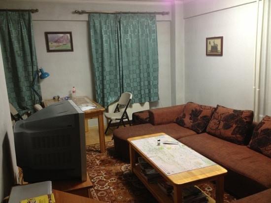 Zaya 2 Hostel: common area