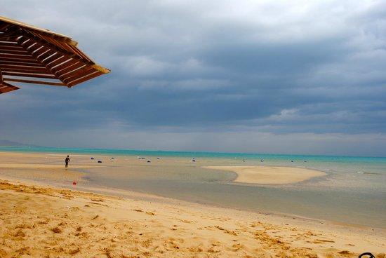 Stella Di Mare Golf Hotel, Ain Sukhna:                   beach