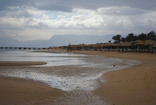 Stella Di Mare Golf Hotel, Ain Sukhna:                   Empty beach