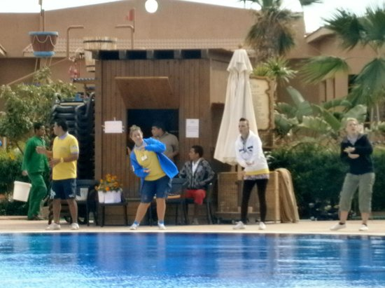 Coral Sea Aqua Club Resort:                   animation team
