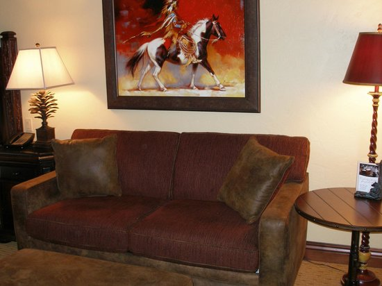 The Lodge at Jackson Hole : sofabed