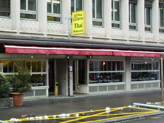Five Spice : Restaurant exterior