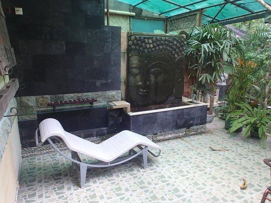 LadyBamboo Villa:                   Terrasse