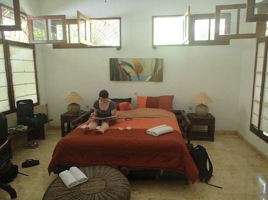 LadyBamboo Villa:                   Schlafbereich