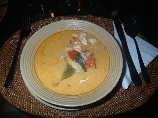 LadyBamboo Villa:                   Essen von der Tageskarte