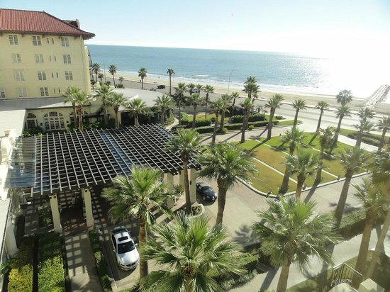 Hotel Galvez & Spa, A Wyndham Grand Hotel:                   Seaside view from our room