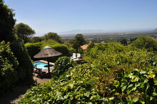 Constantia Vista:                   Private Pool & Sunbathing Deck