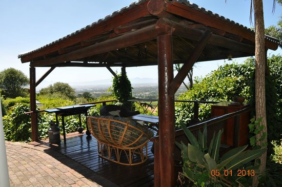 Constantia Vista:                   Private Seating Area & Braai