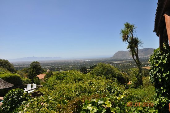 Constantia Vista:                   View over Constantia towards False Bay
