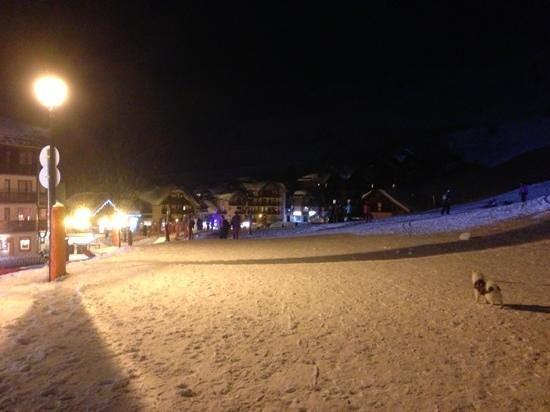 Résidence Odalys Les Lumières de Neige : front de neige