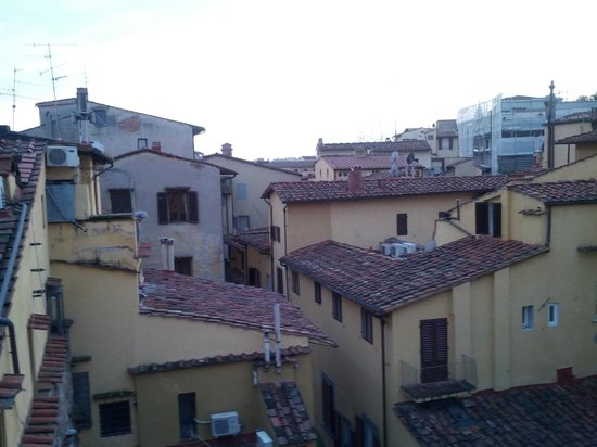 NH Collection Firenze Porta Rossa:                   View from Room