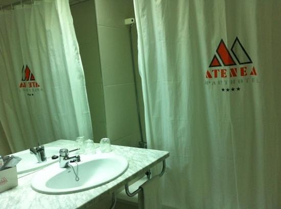 Aparthotel Atenea:                   baño2