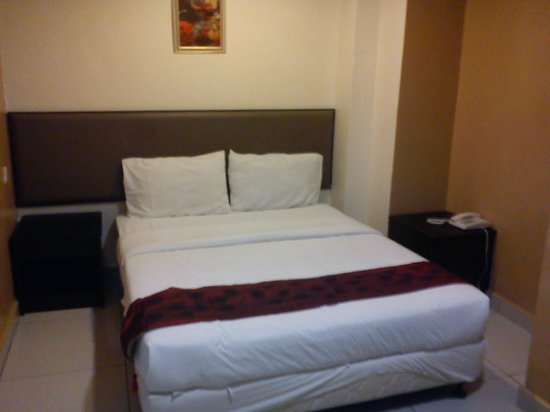 Sohotown Hotel: Double bed