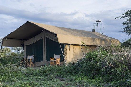 Ubuntu Camp, Asilia Africa:                   Zelt Nr.1