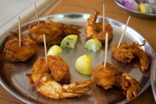 Tarkarli Niwas Nyahari:                   fried prawns