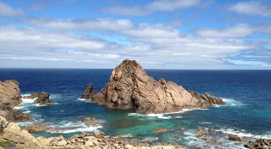 Cape Naturaliste, Australia:                                     Sugarloaf Rock - Wow