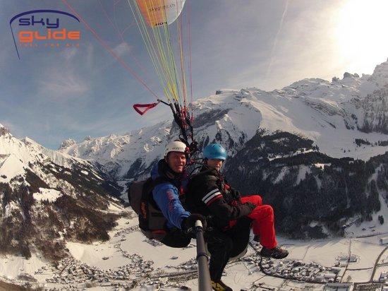 SkyGlide Paragliding Lake Lucerne : Paragliding Lake Lucerne GmbH / Wintertime