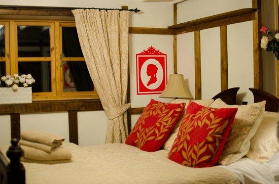 Dolweunydd Bed & Breakfast:                   Inside the cottage - bedroom