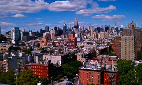 SIXTY LES:                   View of NYC