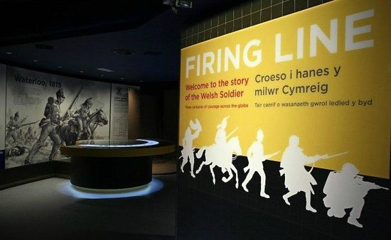 Firing Line - Cardiff Castle Museum of the Welsh Soldier