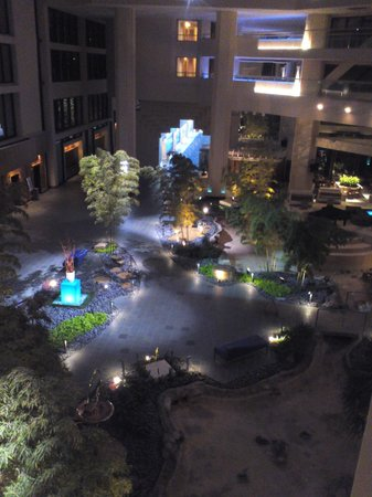 Hyatt Regency Grand Cypress:                   A soaring lobby