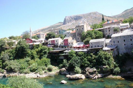 Bosnian National Monument Muslibegovic House:                                     borgo medioevale di Mostar