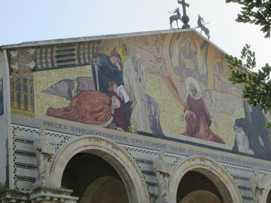 Church of All Nations (Basilica of the Agony): Outside of the church