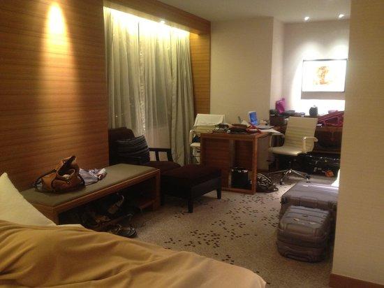 Radisson Blu Cebu:                   Business Suite