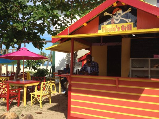 Pirate Grill:                   Pirate's Grill - fresh food in the fresh air