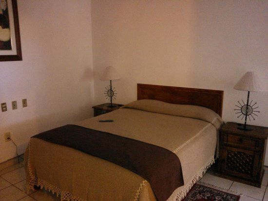 Hotel Quinta Arantxa:                                                       Cama con cobertores para el frío