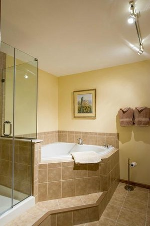 Sunrise Landing Bed and Breakfast: Iris Apartment Suite Bath