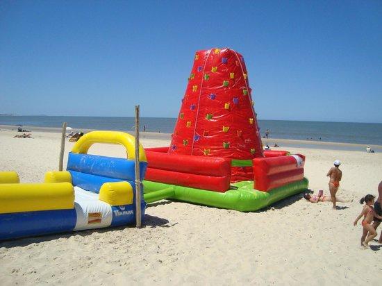 El Nido Beach Hotel: parque del Plata beach