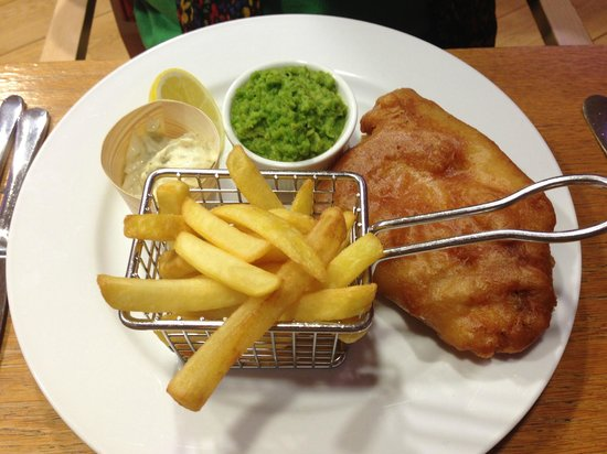 RNLI College:                   Fish & Chips