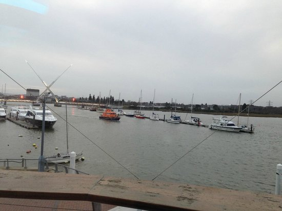 ‪‪RNLI College‬:                   View from room