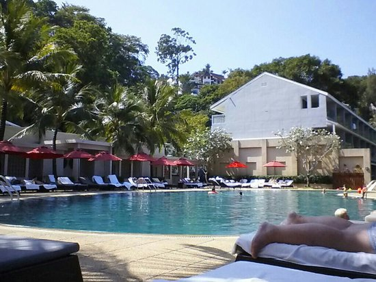 Amari Phuket:                   One of the two pools.