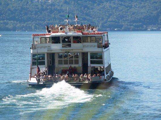 Isole di Brissago: The Luino Boat
