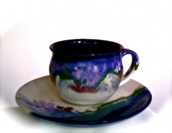 Cooper Mays Pottery: Cup & Saucer