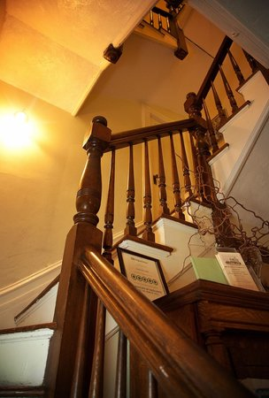 Tower House B&B:                   Stairs