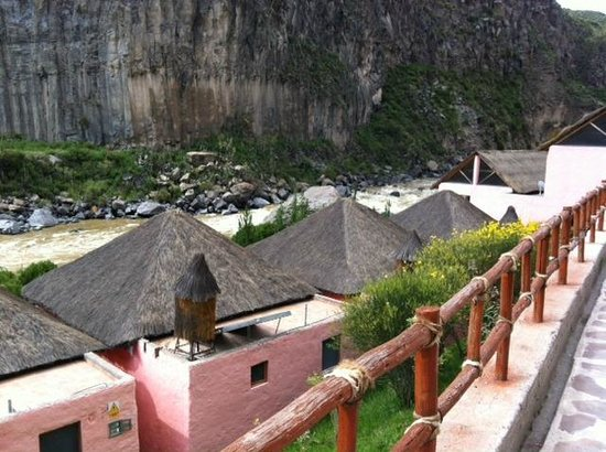 Hotel El Refugio:                   Part of hotel