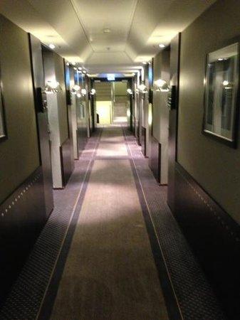 Hotel Auteuil - Manotel Geneva: couloir