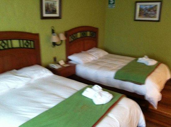 Hotel El Refugio:                   Our room # 205