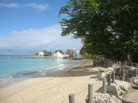 Sugar Cane Club Hotel & Spa:                   Beach in Speightstown